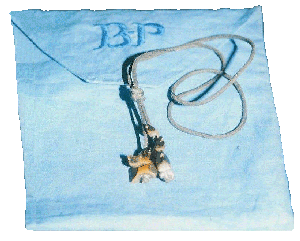 B-P's Wood Badge pouch